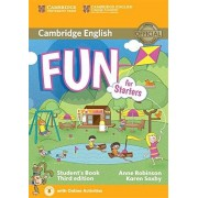 Anne Robinson Fun for Starters Student's Book with Audio with Online Activities Third Edition