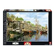 Educa 16313 - Harbour, Dominic Davison - 2000 pieces - Genuine Puzzle