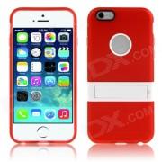 "Enkay protection TPU Retour Case w / Stand pour iPhone 6 PLUS 5.5 ""- Rouge + blanc"
