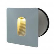 energie A+, LED-buitenlamp II - aluminium zilverkleurig 1 lichtbron, Näve
