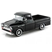 1958 Chevy Apache Fleetside Pickup 1/24 Black