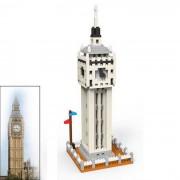 los mini particulas de diamante DIY 3D britanico ben grande montado ladrillos de juguete