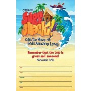 Surf Shack Large Promotional Poster: Catch the Wave of God's Amazing Love