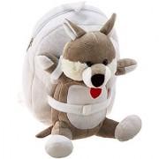 Tag Along Teddy Plush Dog Backpack Small
