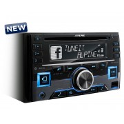 CD Player Auto MP3 Alpine CDE-W296BT BF2016