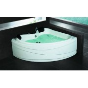 items-france PIOLA - Baignoire d'angle 2 places contemporaine 150x150x65