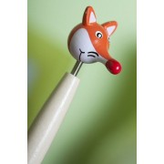 Pix figurina - Cap de vulpe (50 bucati)