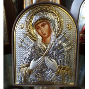 "Икона - Сребърна ""Богородица"" (ЕК2-152PAG)"