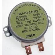 Tányérforgató motor GM-20-24FF3
