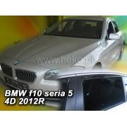 Deflektory komplet 4 ks - BMW 5 sedan (F10), 2010-