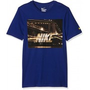 Nike Futura Bridge Tee-T-Shirt-Homme M Azul / Mostaza (Deep Royal Blue/Varsity Maize)