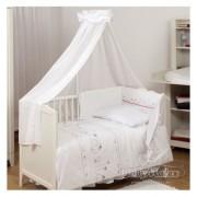 Бебешки спален комплект 5 части Cat Bianco Collection Baby Matex 0223