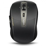 Arion Rapoo 3920P 5G Wireless SURFREE Mouse With Optical Laser Engine Free on Glass Surface - Black