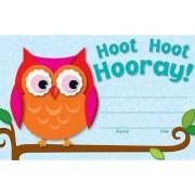 Hoot Hoot Hooray! Recognition Awards by Carson-Dellosa Publishing