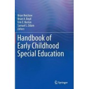 Handbook of Early Childhood Special Education 2016 by Brian Reichow