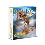 Geoworld CL748K - Ice Age Excavation Kit, Cave Bear Skeleton