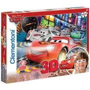 Clementoni 20044 - Puzzle 3D Cars 2, 104 pezzi