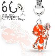 Přívěsek na piercing charms CH-018