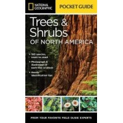 National Geographic Pocket Guide To Trees And Shrubs Of North America by Bland Crowder