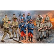 Set figurine infanteristi wwi german/british/french revell 02451
