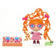 Lalaloopsy - Littles Silly Hair Doll: Specs Reads-A-Lot muñeca (Bandai 521204)
