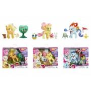 My Little Pony Set tematic cu fig ponei articulata Hasbro B3602