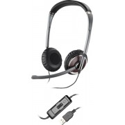 Casti cu microfon Plantronics Over-Head Blackwire C420-M USB, PC headset, EMEA - Black