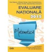 Evaluare Nationala 2016 matematica - Irina Capraru Mihaela Cianga