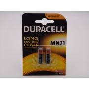 Duracell MN21 / 23, A23, V23GA 12V baterie alcalina pentru telecomanda auto Blister 2