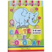 Carte de colorat 5-6 ani colectia Campionii