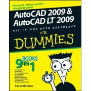 AutoCAD 2009 and AutoCAD LT 2009 All-in-one Desk Reference For Dummies by Lee Ambrosius
