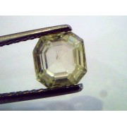 2.27 Ct Unheated Untreated Natural Ceylon Yellow Sapphire/Pukhraj