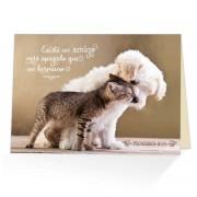 Existe un amigo mas apegado que un hermano - Proverbios 18:24 - (Postal biblica) - Espanol
