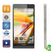"""4.2 WCDMA Bar HUAWEI Ascend P6 Quad-Core Android Phone w / 4.7 """"écran, connexion Wi-Fi gratuite, RAM de 2 Go et 8 Go ROM"""