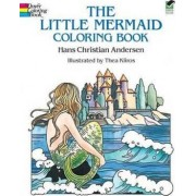 The Little Mermaid Coloring Book by Hans Christian Andersen