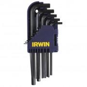 Irwin 10 Clés hexagonales sur support T10756