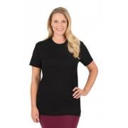 Trigema Damen T-Shirt - Slim Fit Größe: XXL Material: 100 % Baumwolle, Ringgarn supergekämmt Farbe: schwarz