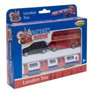 Richmond Toys Motormax Best of British Street Scenes London Trio Die-Cast Gift Set