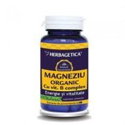 Herbagetica Magneziu Organic 60 cps