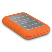 Disque dur externe portable Rugged Triple - 500 Go, orange