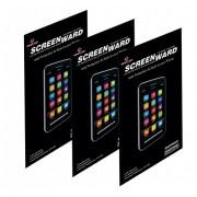 Blackberry Z3 Screen protector, Scratch Guard No Rainbow Effect [Screenward] (Pack of 3) Screen Protector Scratch Guard For Blackberry Z3