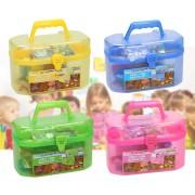 52087 Kit decoupage per bambini in valigetta CRAFT ART CASE con 127 accessori