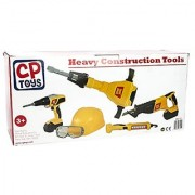 Constructive Playthings - Heavy Construction Tools - For Pretend Play - With Sound Effects and Motions - Teaches Respons