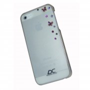 Diamond Cover Sky Case - поликарбонатов кейс за iPhone 5, iPhone 5S, iPhone SE (с кристали на Сваровски)