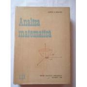 Analiza Matematica - Marcel N. Rosculet