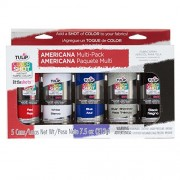 Tulip 34990 Instant Color Shots Americana Fabric Paint (5 Pack)