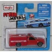 Maisto Fresh Metal 1:64 Die Cast Red Fire Department Utility Truck