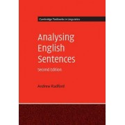 Analysing English Sentences by Andrew Radford