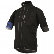 Santini Reef Water and Wind Short Sleeve Jersey - Black - M