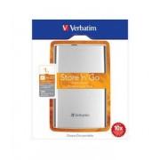 """HDD Extern Verbatim 2.5"""" 1TB USB 3.0 & 2.0 Argintiu"""